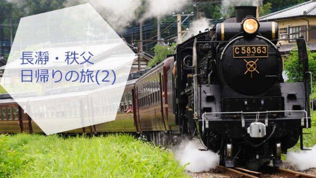 【長瀞・秩父】お得な電車チケットでマイナスイオンを浴びてくる日帰りの旅。帰りはSL列車(2)